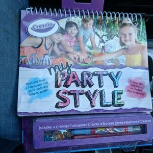 My party style, Crayola (NWOT)